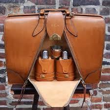 Brief-O-Fold Accordion Camel Colored Briefcase