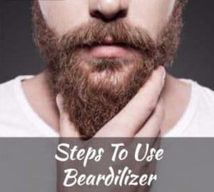 steps to use beardilizer
